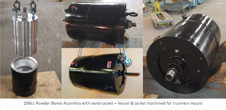 Powder Bomb Pressure Vessel Design