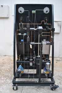 Air Operated Pressure Panel Back View
