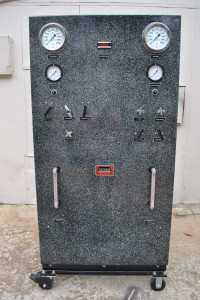 Air Operated Pressure Panel Front View