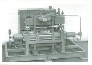 DA-4 60,000 PSI max. gas booster module with intensifier and drive