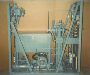 SA-4 gas Booster system for 100,000 psi