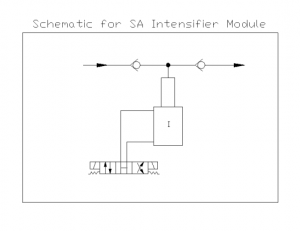 Single Acting Intensifiers Schematic