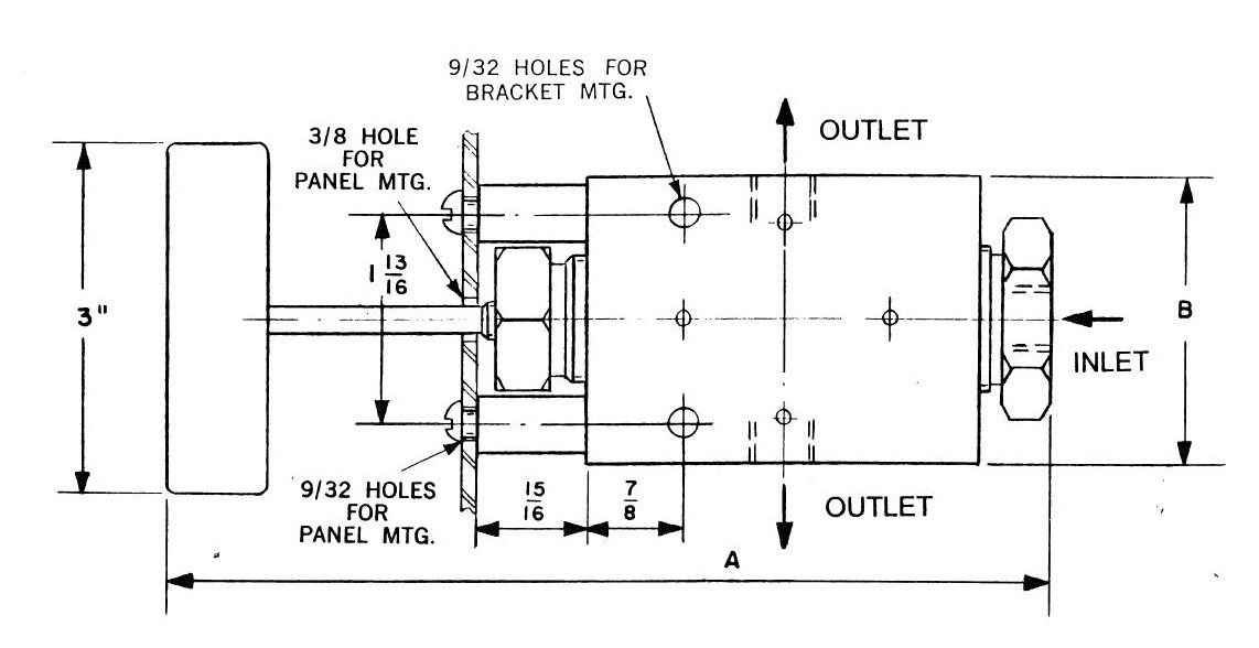 Needle Valve 150,000 Schematic