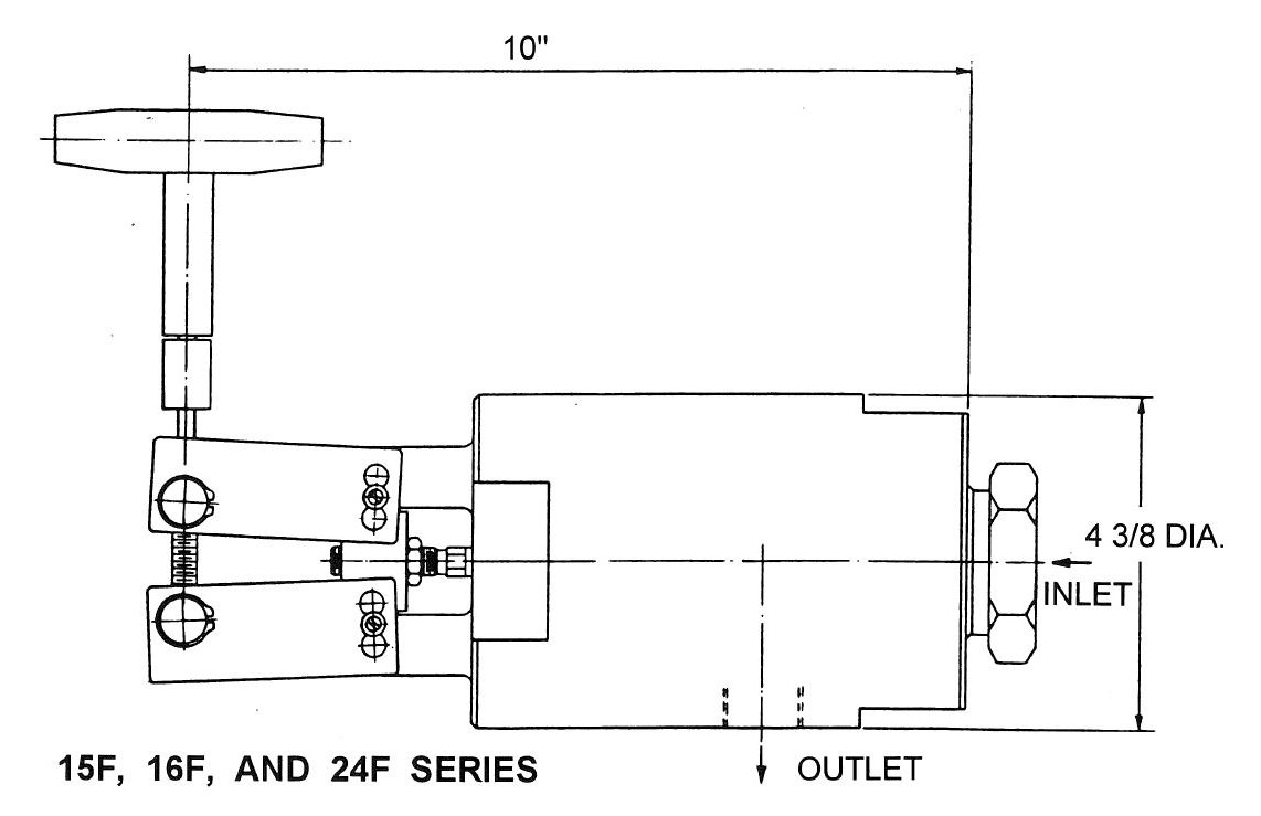 Toggle Needle Valve Schematic